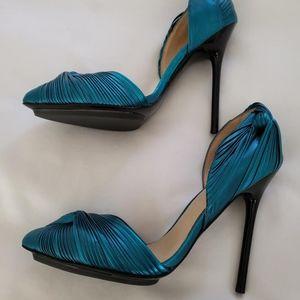 Teal L.A.M.B heels